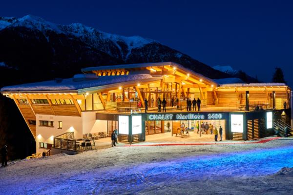 Restauracje, Snowbary w Val di sole